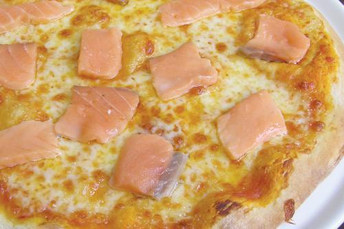 Как приготовить пиццу с красной рыбой