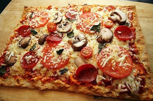 Как приготовить пиццу в лаваше
