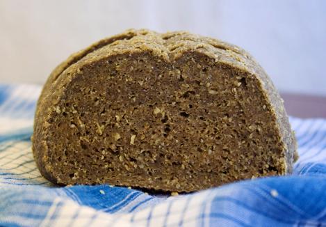 Бездрожжевой ржаной хлеб в мультиварке
