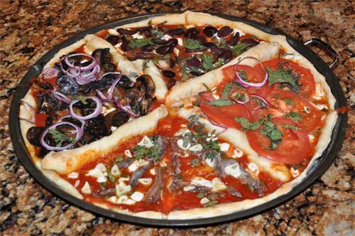 """Как приготовить пиццу """"4 сезона"""""""
