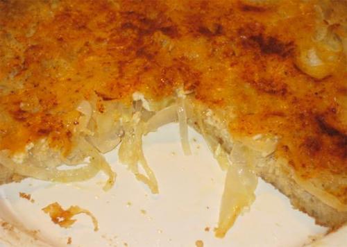 Как приготовить пирог луковый