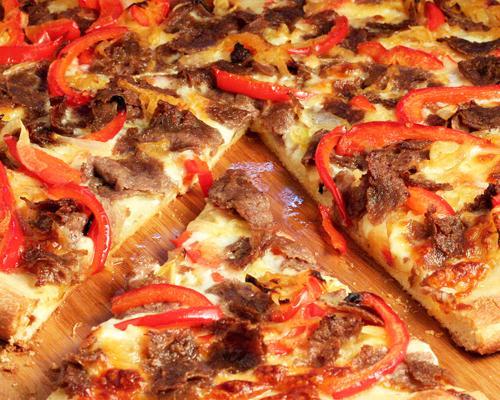 Как приготовить пиццу с фаршем