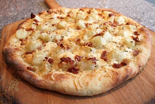 Как приготовить пиццу с картошкой