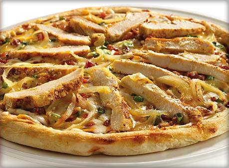 Пицца «Деревенская» с курицей