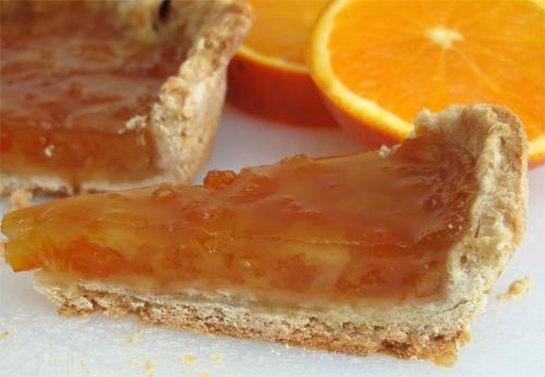 Как приготовить пирог с апельсиновым конфитюром