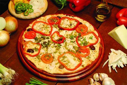 Как приготовить овощную пиццу