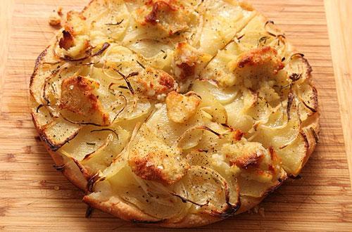 Как приготовить картофельную пиццу